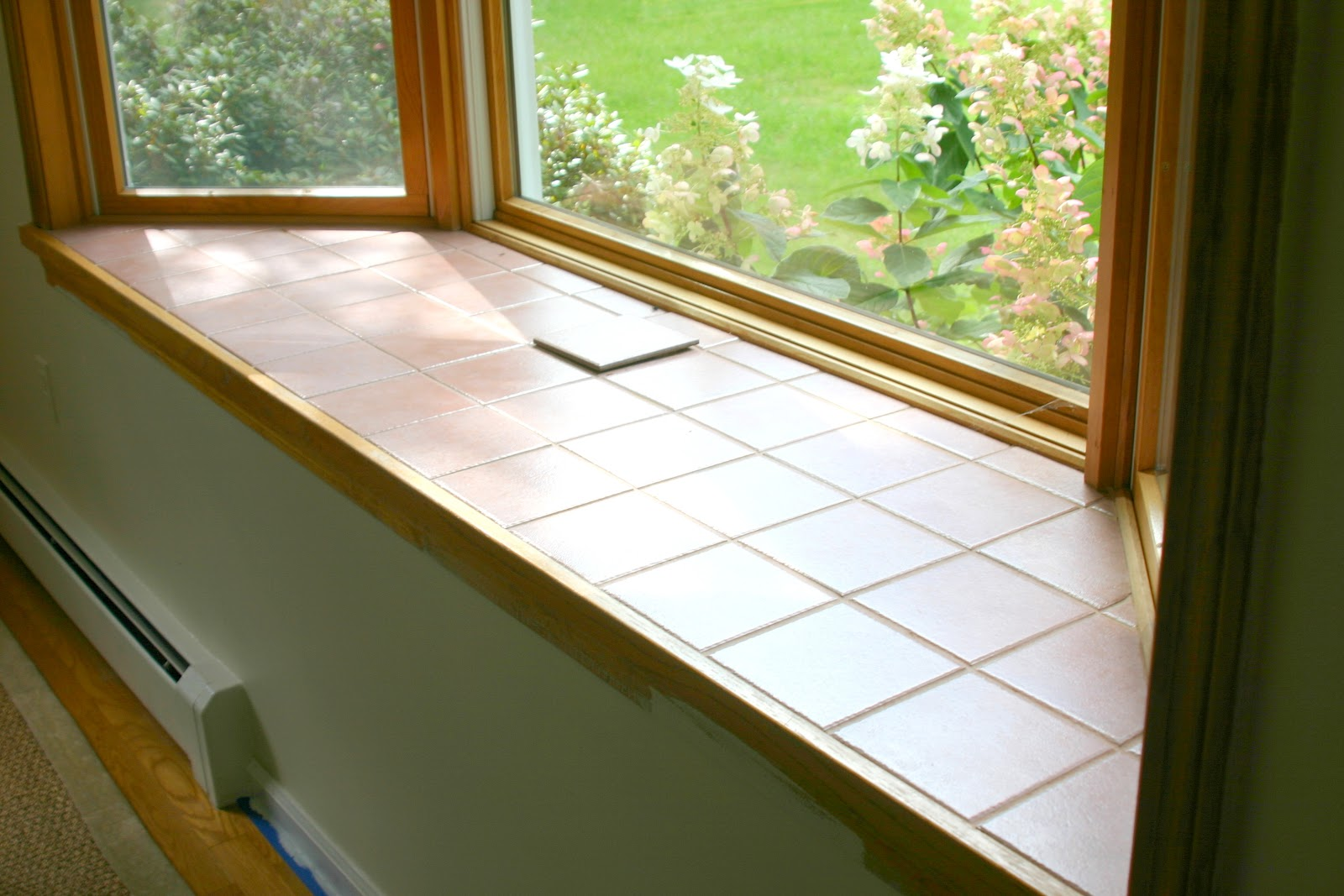 Painting tile and grout shine your light - Painting window sills exterior set ...