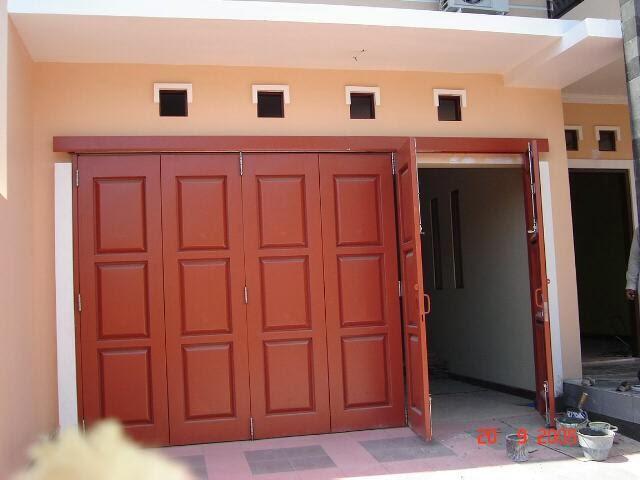 Pintu besi, pintu garasi, pintu ruko
