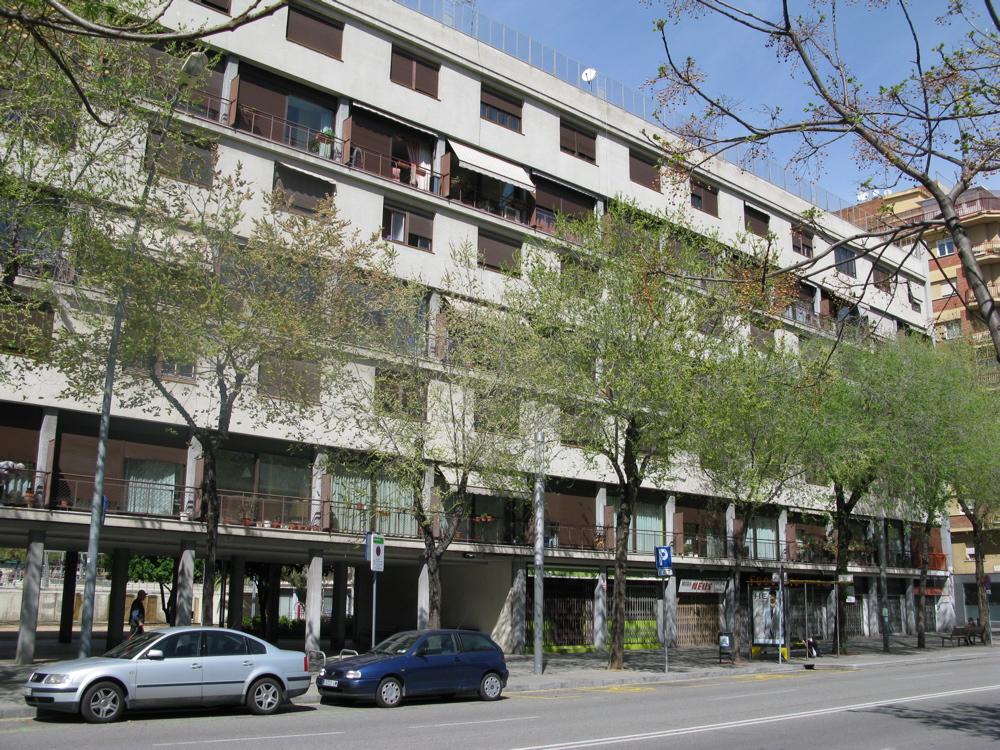 Casa bloc 1932 39 arquitectura racionalista de la ii - Casa bloc sant andreu ...