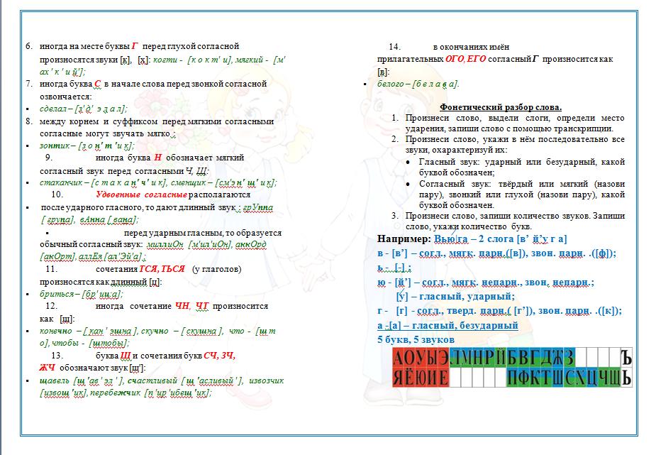 Как сделать фонетический разбор слова моет