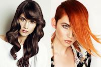 cabellos rojos rubios y oscuros