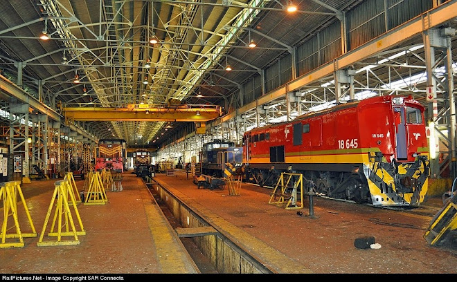 18-645 & Umbilo Electric Locomotive Depot Workshops