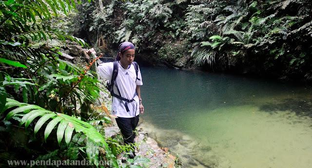 Tempat mandi menarik di Puchong - Blue Lagoon