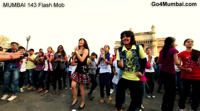 Mumbai 143 India's Biggest Flash mob