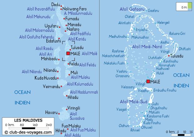 Sables des Mascareignes: Les Maldives