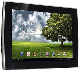 ASUS Eee Pad Slider SL101 Android