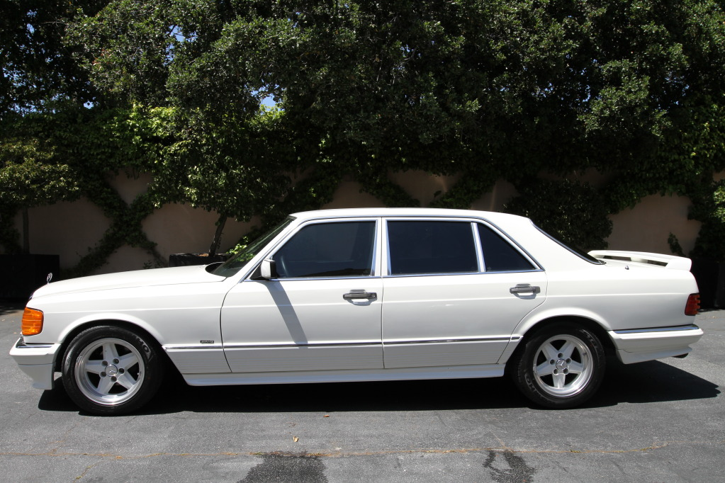 Mercedes benz w126 amg 500sel benztuning for Mercedes benz w126