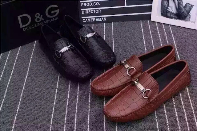 Giày lười D&G da sần nâu, đen 1.450.000 VNĐ