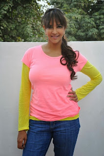 Actress Lakshmi Manchu Phtoos in Jeans at Chandamama Kathalu Movie Press Meet 0011