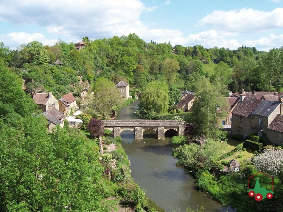 Cele mai frumoase sate din fran a blogul larisei - Les plus beaux villages de normandie ...