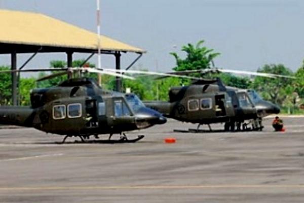 Helikopter Bell 412EP TNI-AD