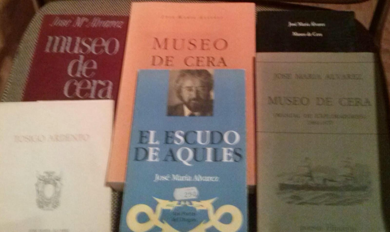 Libros de poesías de José María Álvarez