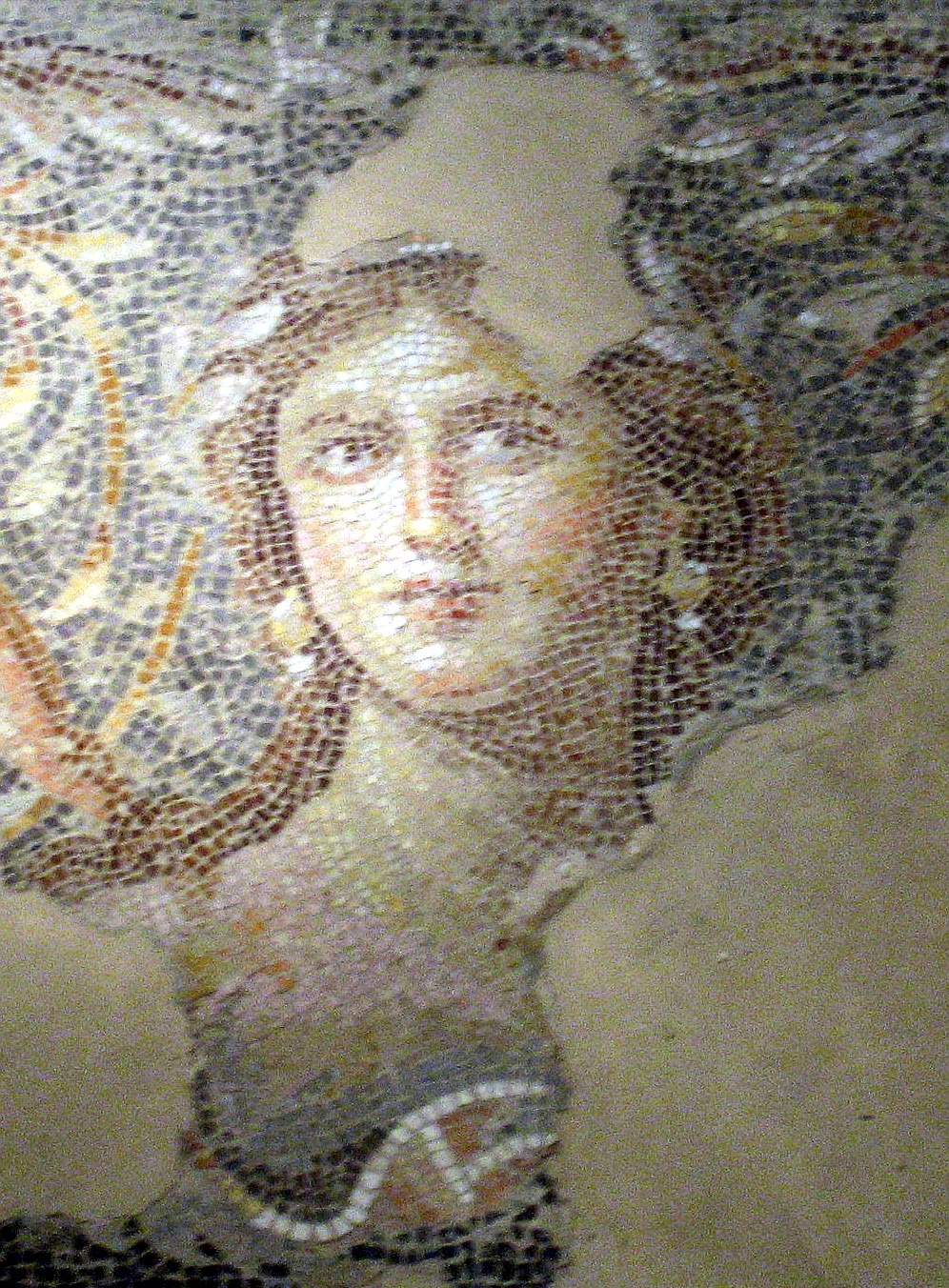 history and women mona lisa of the galilee the mosaic of sepphora the mona lisa of the galilee
