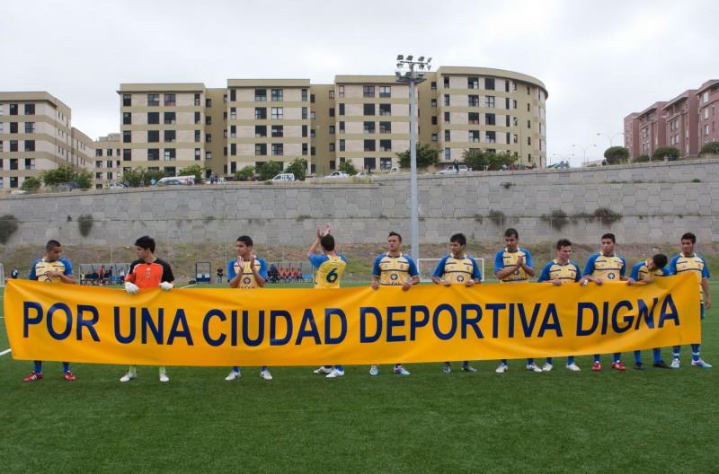 Los aficionados de la ud reclaman en facebook una for Puerta 8 ciudad deportiva