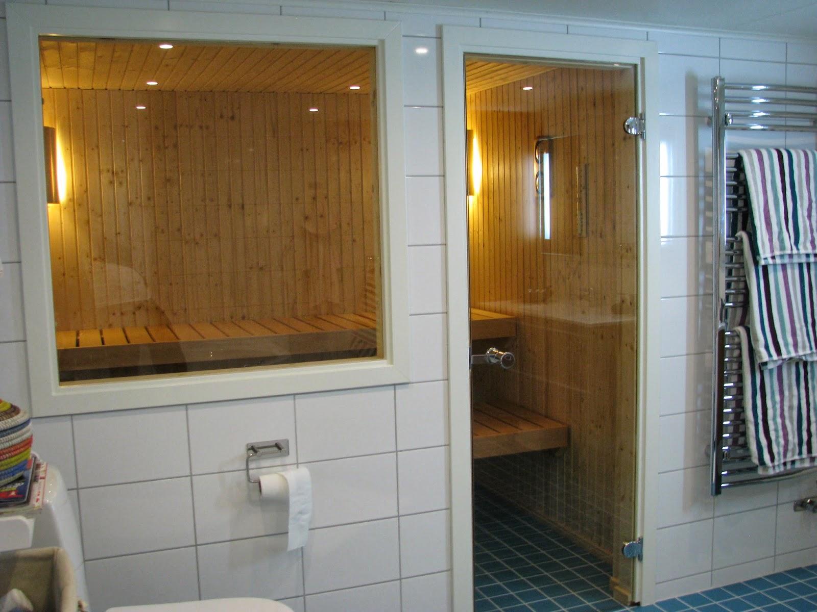Agnesfrid - renoveringsblogg: Badrum och bastu färdiga!
