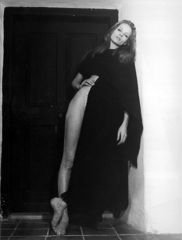 Veruschka von Lehndorff in 1970, legendary model, german icon