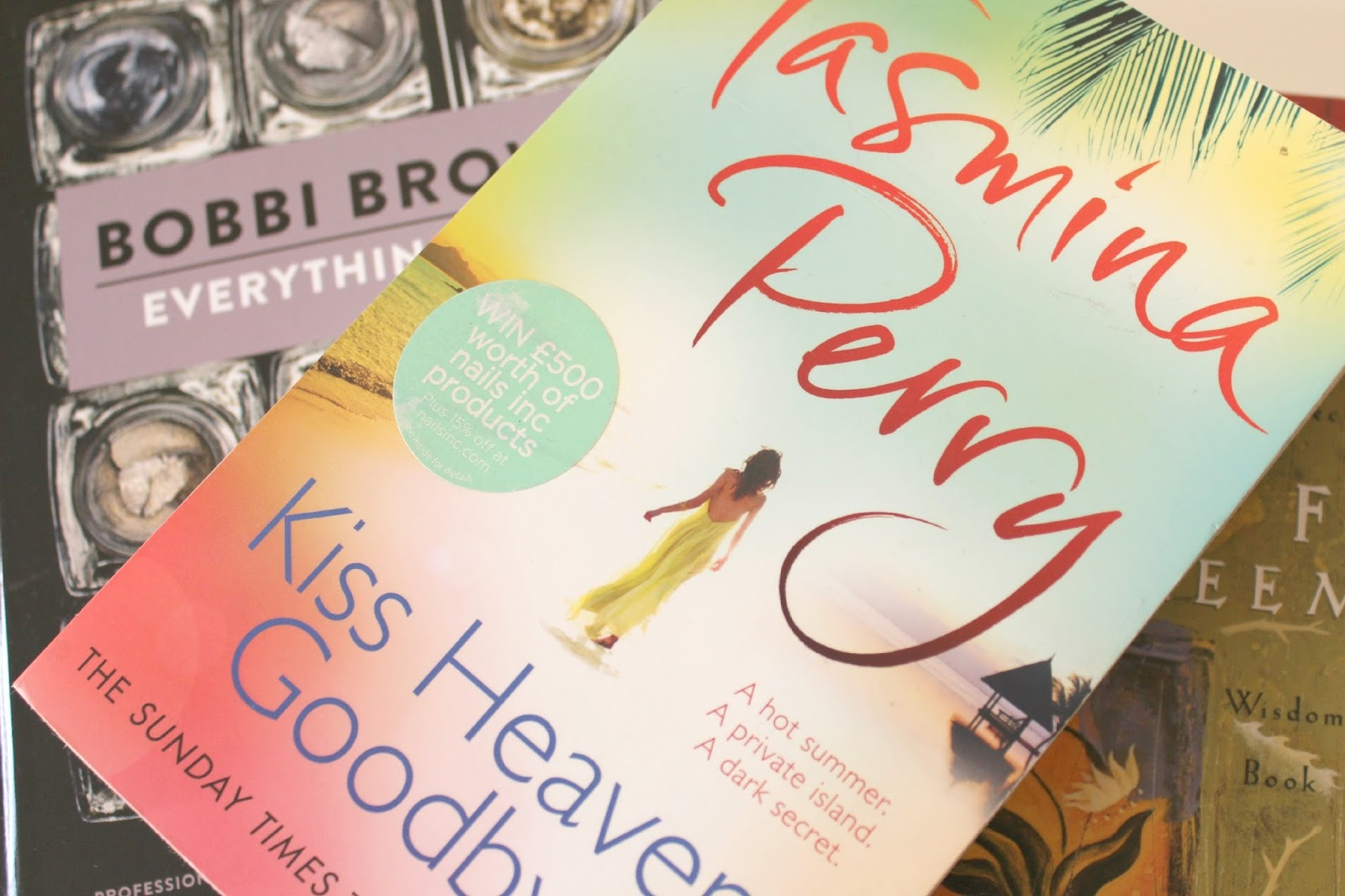 A picture of Kiss Heaven Goodbye by Tasmina Perry