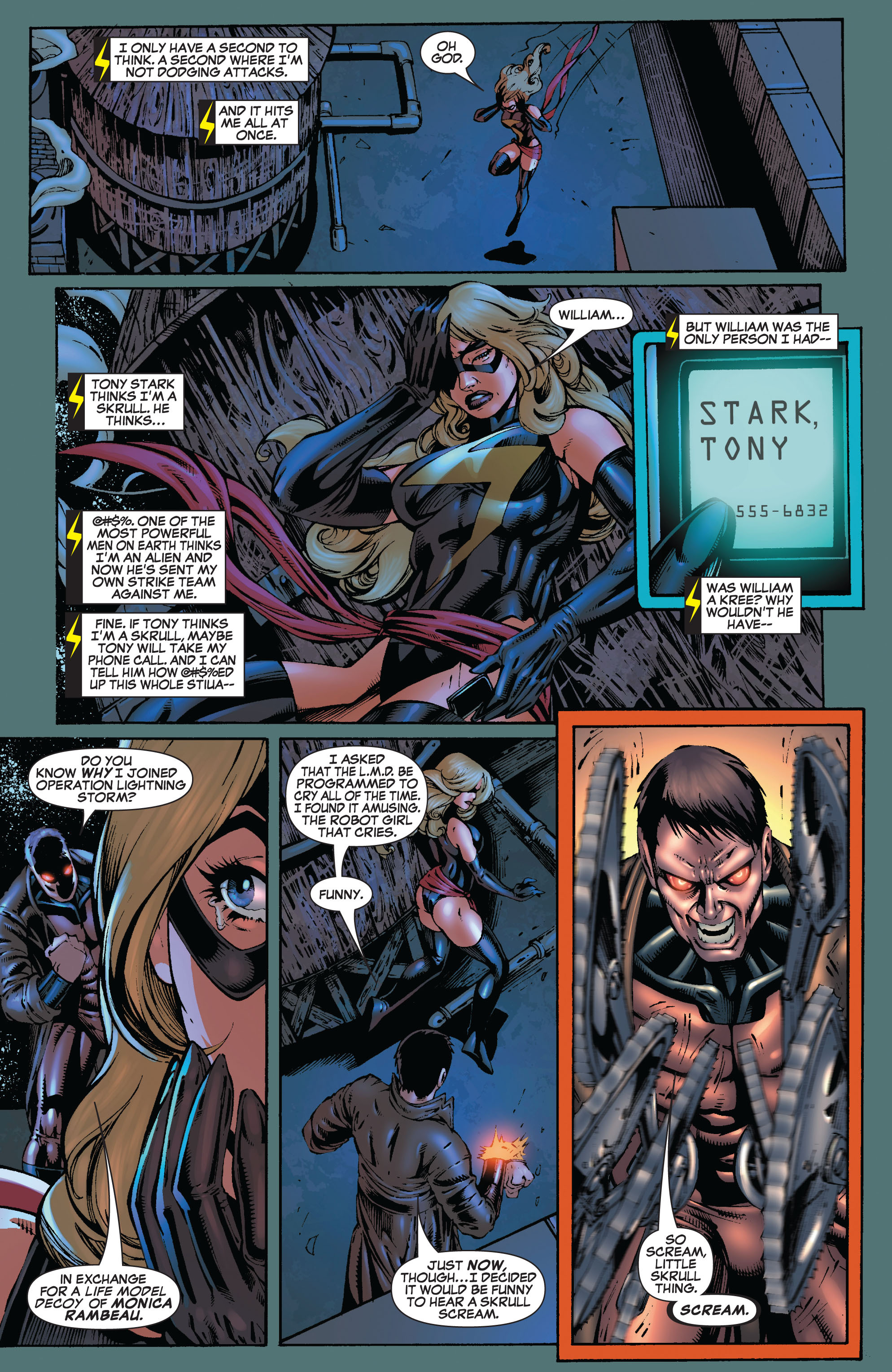 Read online Secret Invasion: The Infiltration comic -  Issue #9 - 9
