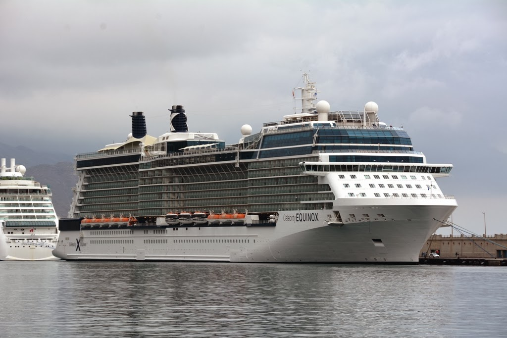 Santa Cruz Port Tenerife Celebrity Equinox