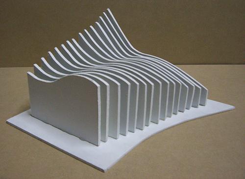 Dise iko estanteria a base de planos seriados for Arte arquitectura y diseno definicion