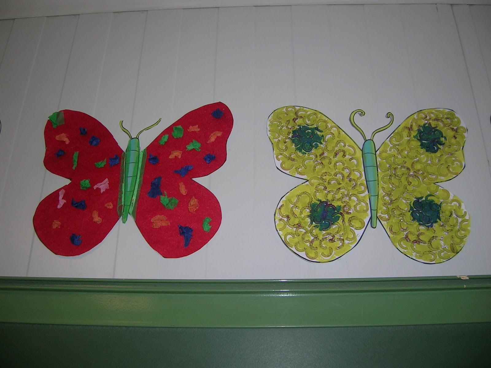 Trabajando en educaci n infantil decoraci n primavera - Decorar dibujos infantiles ...