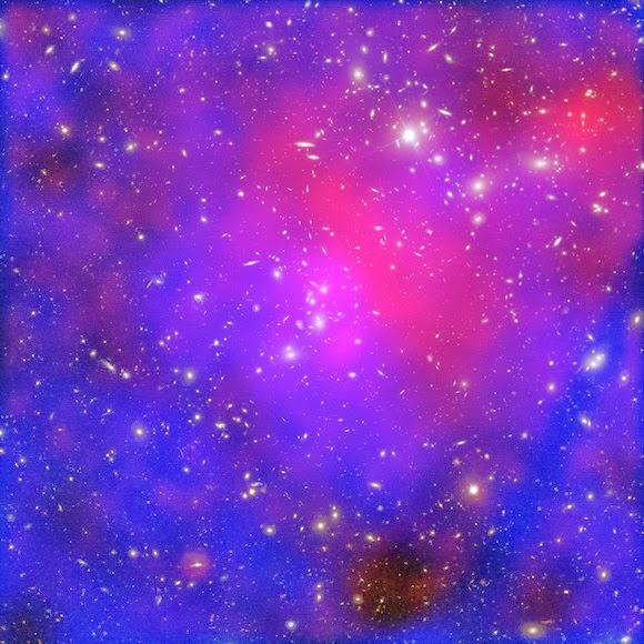 Скопление Пандоры, Абель 2744 (Pandora's Cluster, Abell 2744)