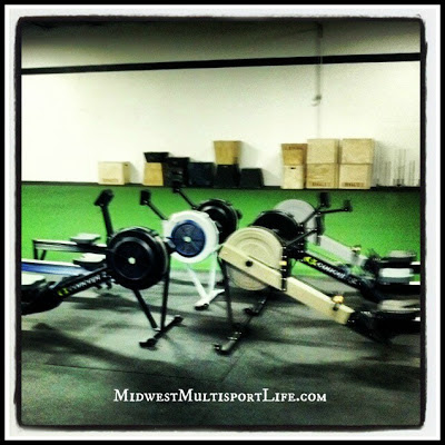 CrossFit Amplify Indoor Rowers