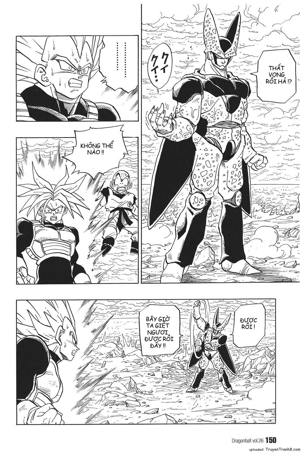 xem truyen moi - Dragon Ball Bản Vip - Bản Đẹp Nguyên Gốc Chap 385