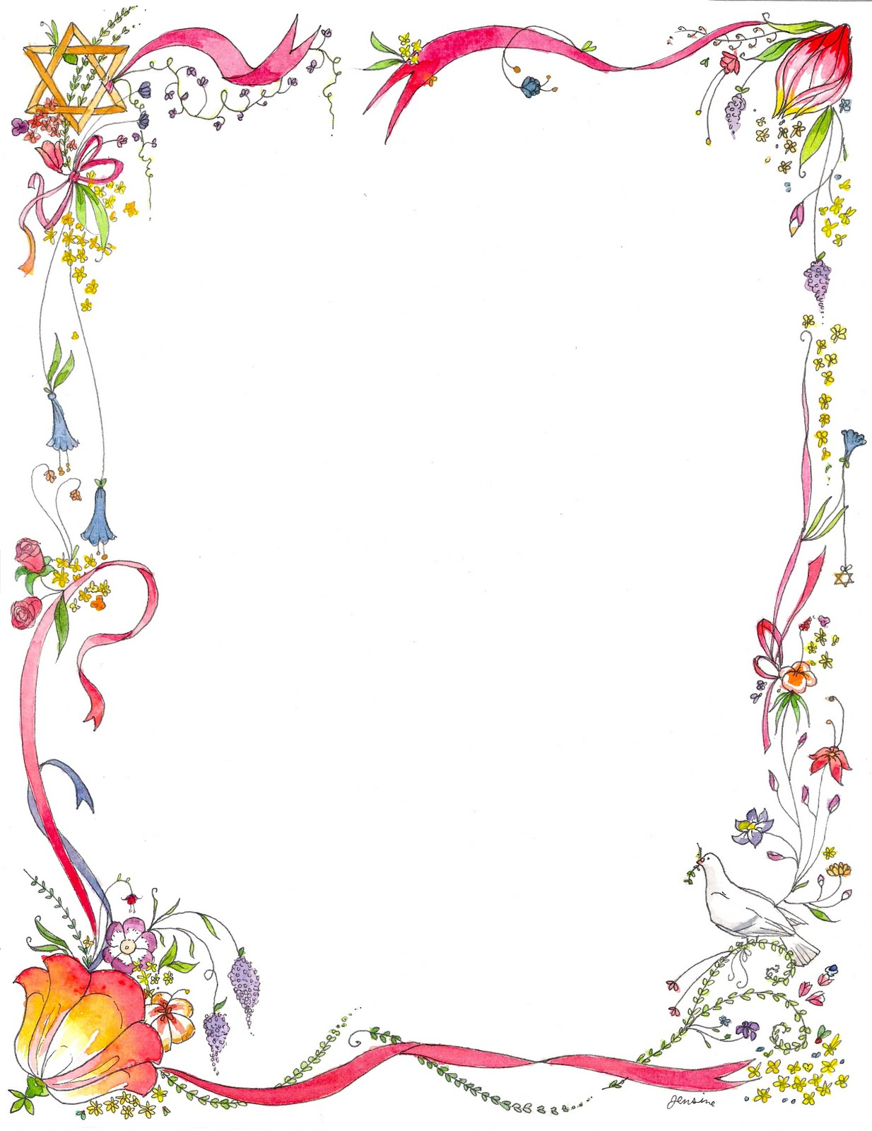 Pin Page Border Designs Free on Pinterest