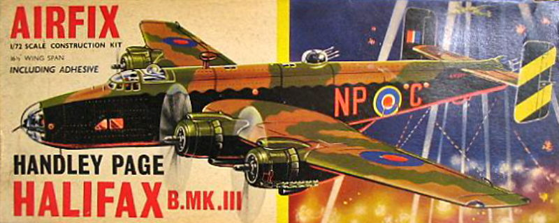 Maquette avion: Handley Page Halifax Mk.I/II Revell  Magasin de Jouets pour