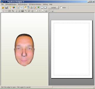 ¿Quieres tu cara en Papercraft? pues pincha la imagen y te explico como hacerlo.