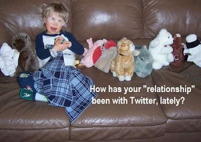 How has your &quot;relationship&quot; been with Twitter, lately?