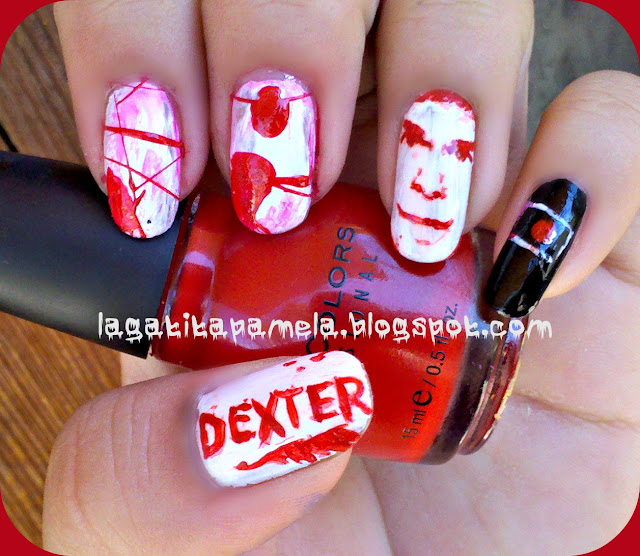 dexter blood nails
