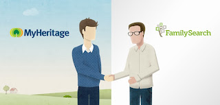 Olive Tree Genealogy Blog: Big News! MyHeritage and FamilySearch Partnership Announcement