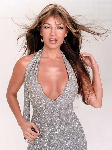 Singer Thalia Bikini