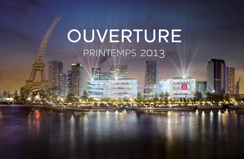 Ma fen tre sur paris le nouveau centre commercial beaugrenelle ouvre ses portes - Le centre beaugrenelle ...