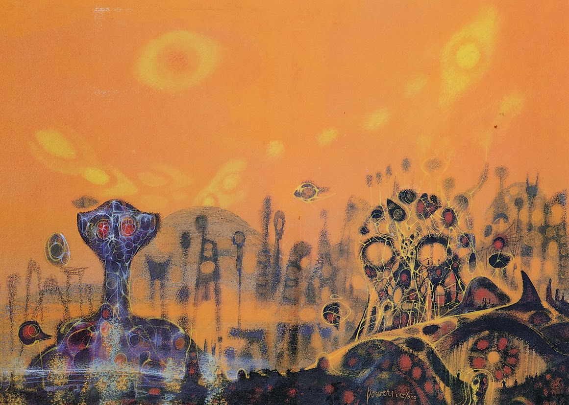 Cover story: Surrealism of Richard Powers Picketing Books 10