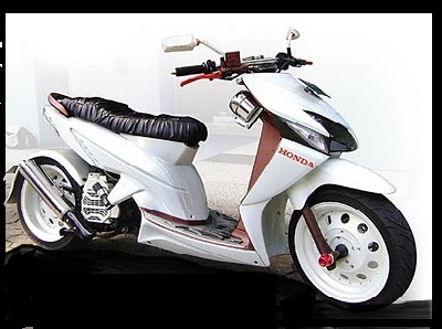 Modifikasi Motor Honda Beat Lowrider Spesifikasi