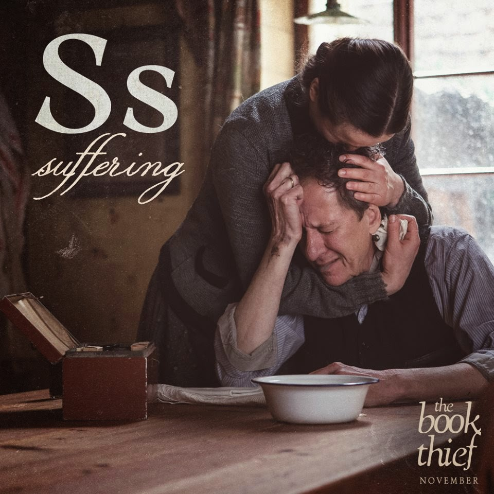 the book thief letters s suffering