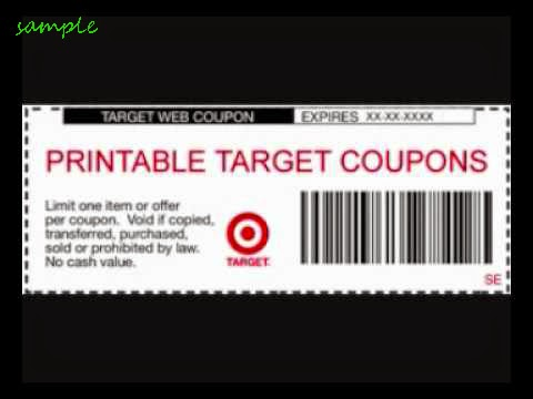 Target online coupon codes 2018
