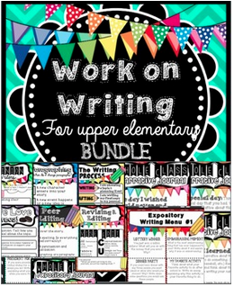 Work on Writing for Upper Elementary Bundle