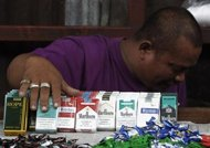 The Philippines warned cigarette makers