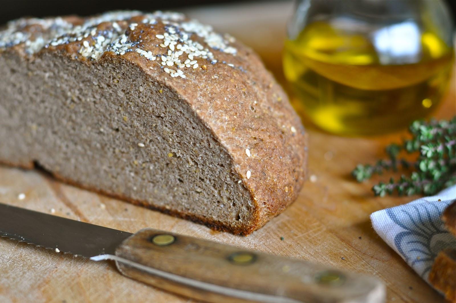 Nourishing Meals: Gluten-Free Bread (xanthan-free, vegan)