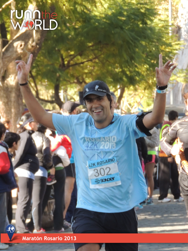 Maraton Rosario 2013