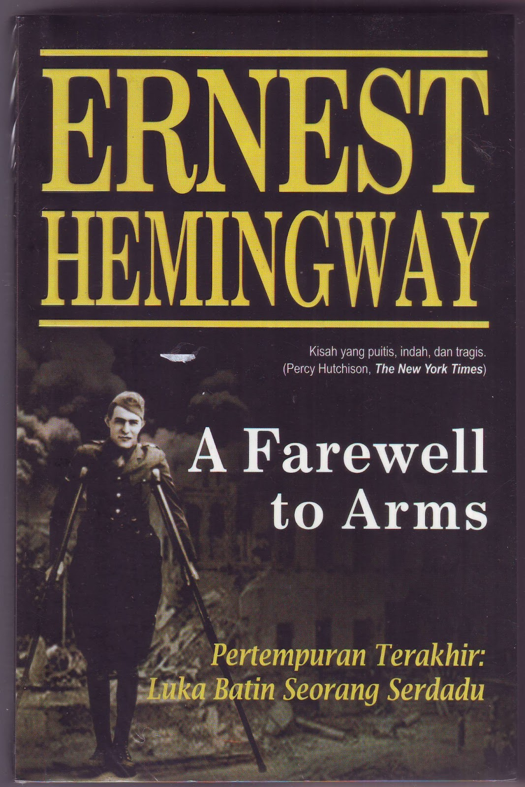 "ernest hemingway a farewell to arms essay Ernest hemingway (1899-1961), born in oak park, illinois, started his  the  purpose of this essay, however, is not to create justice for hemingway  3 judith  fetterly, a farewell to arms: ""hemingway's resentful cryptogram"", in the  resisting."