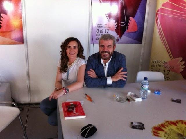 Con el modista Lorenzo Caprile