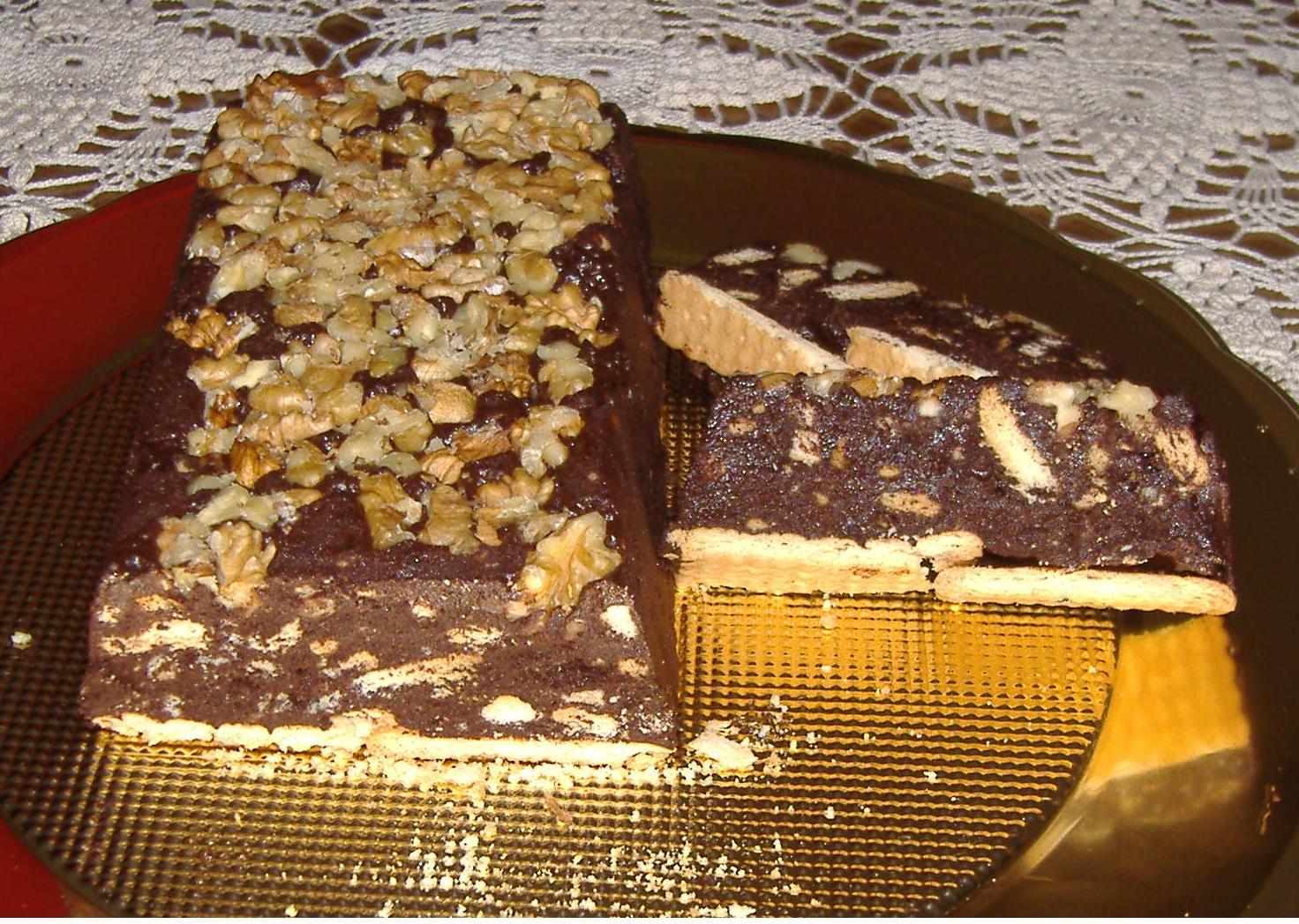 Mattonella al cacao