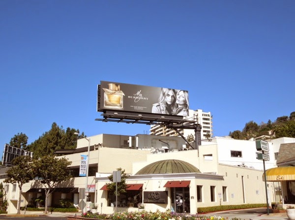 My Burberry fragrance billboard