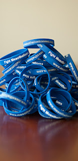 Fight Mesothelioma Wristband