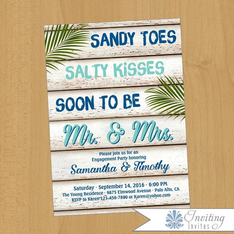 Inviting Invites – Etsy Beach Wedding Invitations